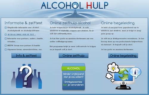 alcoholhulp index pagina