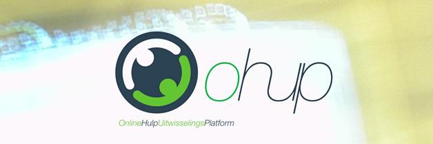 ohup online hulpverlening uitwisselings platform