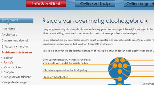 alcoholhulp menu